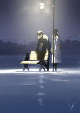 hinh anh tinh yeu anime chia tay dau kho