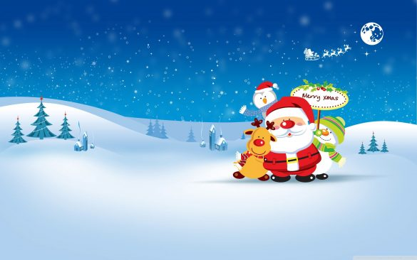 anh ong gia Noel merry christmas