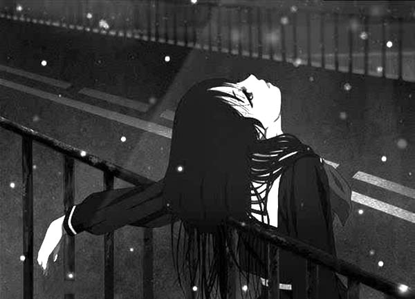 hinh anh avatar buon nu den trang hoat hinh anime