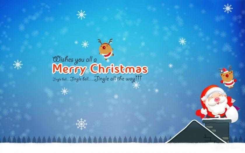 hinh anh ong gia Noel vs Merry Christmas