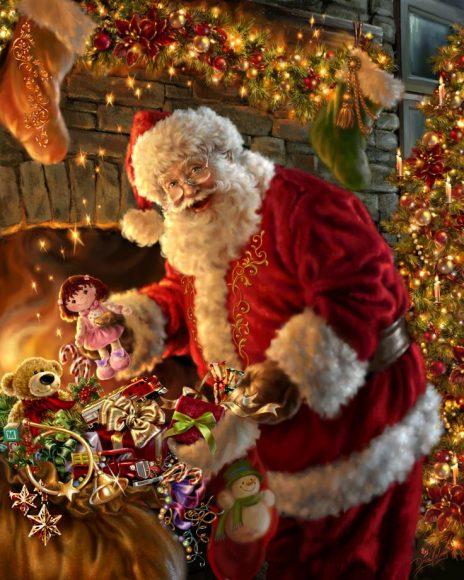 Tổng hợp hình ảnh ông già Noel đẹp nhất