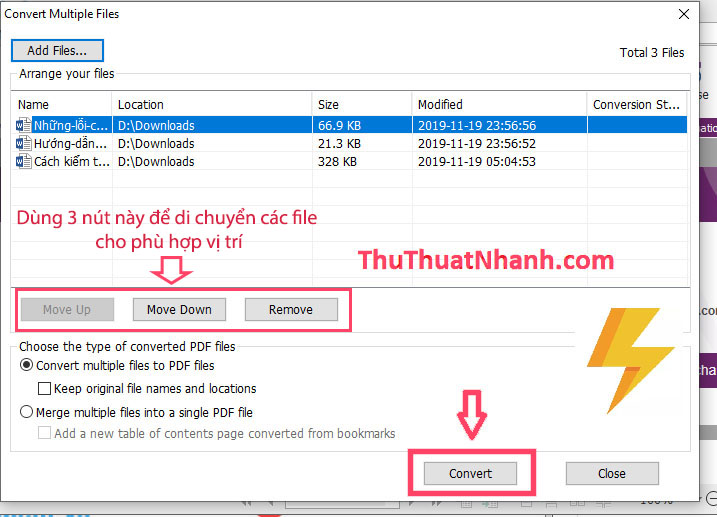 ghep noi file pdf bang foxit reader