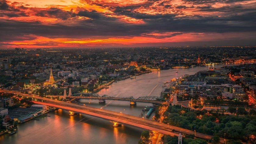 Hình nền thành phố Bangkok Thái Lan