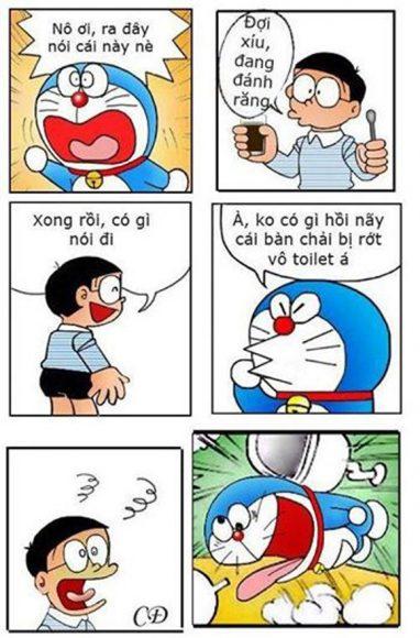 ảnh chế Doremon và Nobita