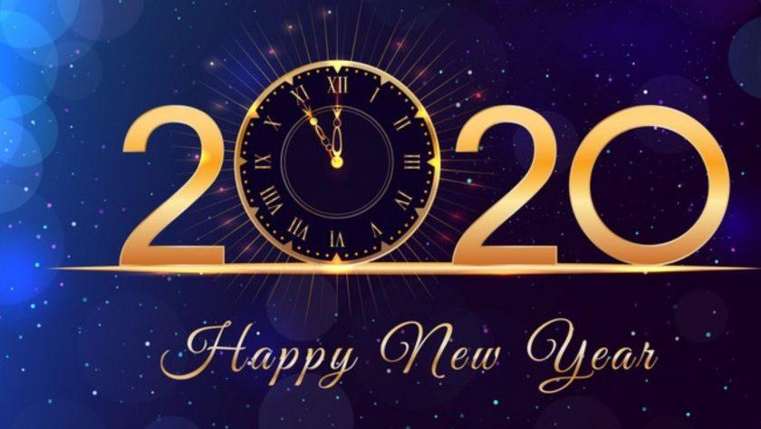 ảnh happy new year 2020