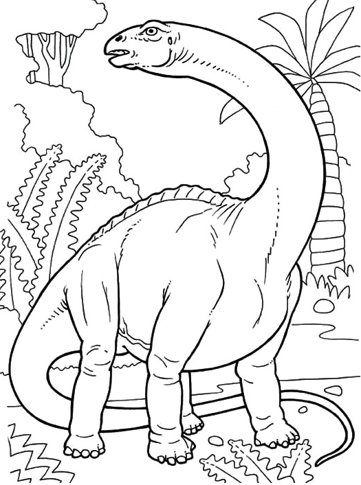 ảnh khủng long cổ dài