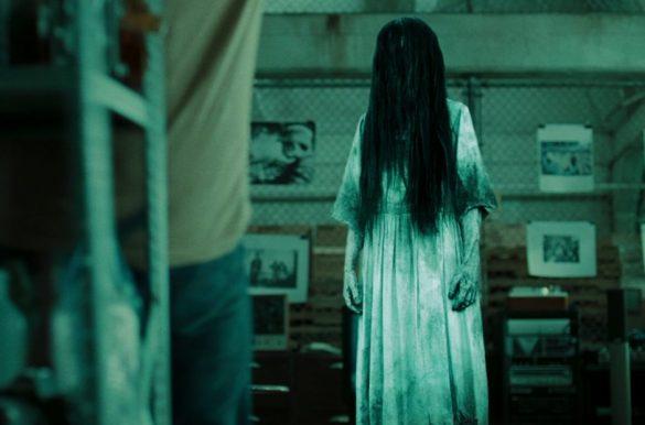 ảnh ma kinh dị xõa tóc