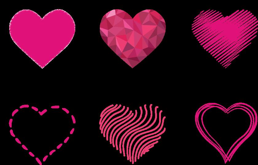 background đẹp các mẫu hình trái tim