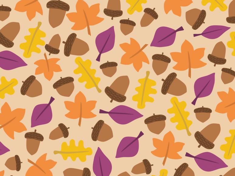 background vector những chiếc lá mùa thu