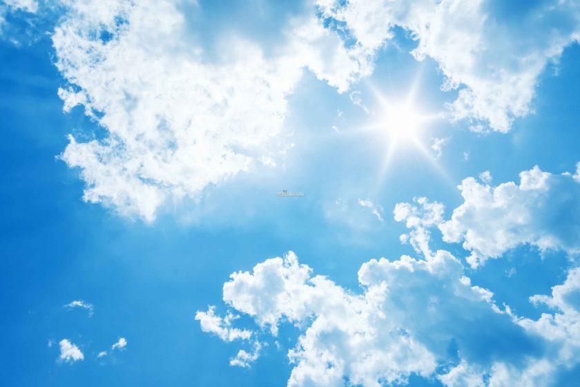 bầu trời xanh HD