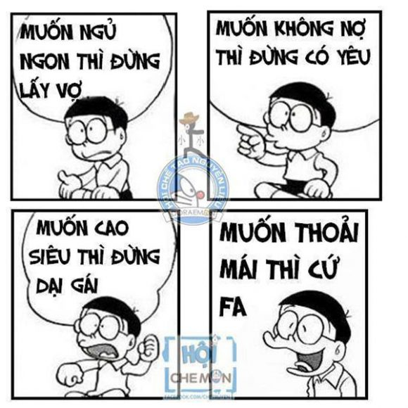 chế Nobita comment