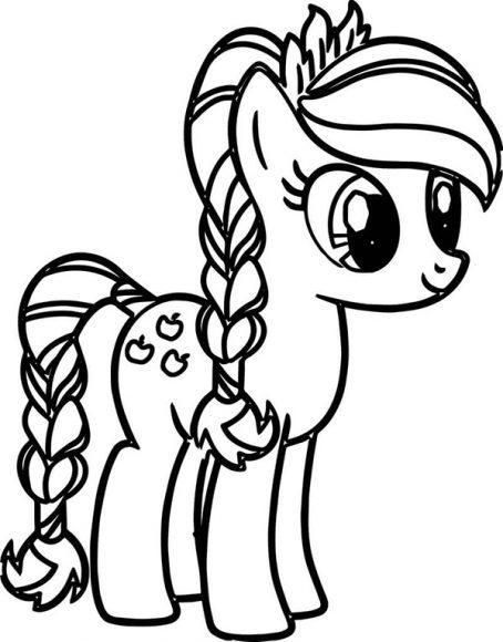 download tranh to mau pony