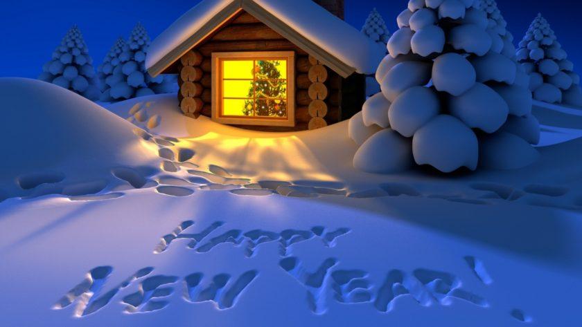 hình ảnh happy new year chúc mừng năm mới - Giáng sinh