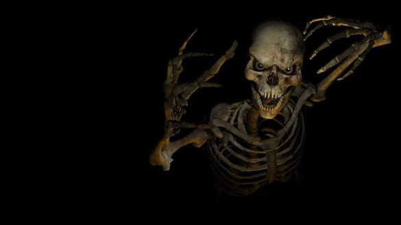 hình ảnh ma hình bộ xương khô