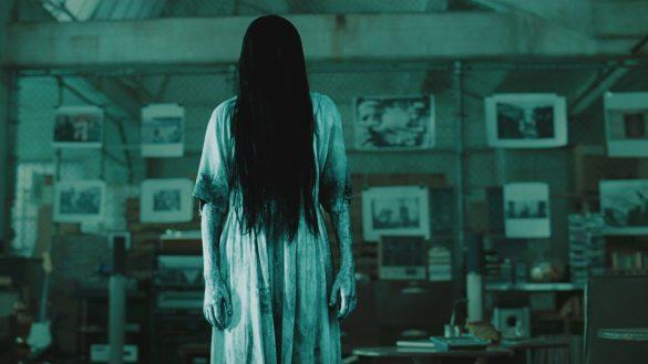 Hình ảnh ma xõa tóc dài kinh dị