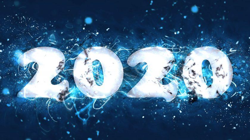 hình nền chúc mừng năm mới 2020 đẹp