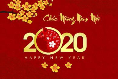 hình nền năm mới 2020