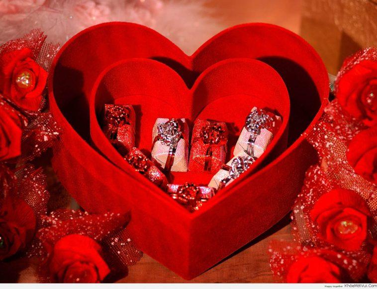 hop qua trai tim tinh yeu cho valentine 14 2