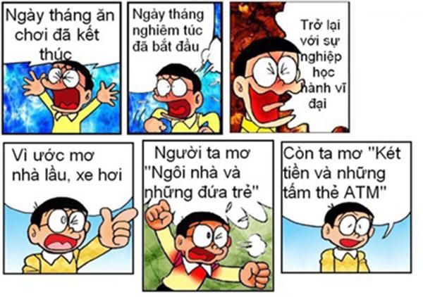 những ảnh chế Nobita hài