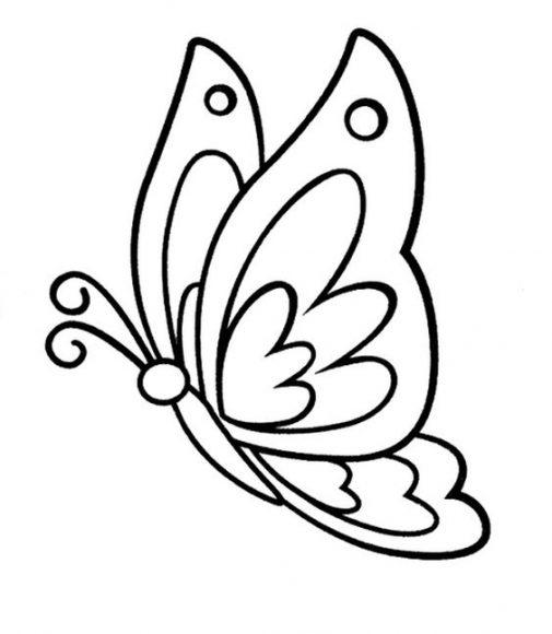 tô màu tranh đen trắng con bướm