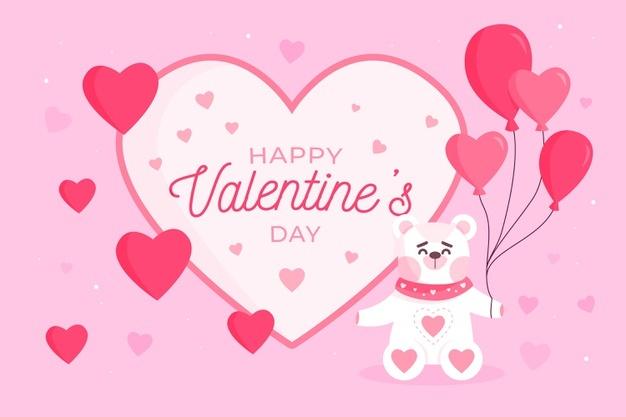 anh cute thiep valentine