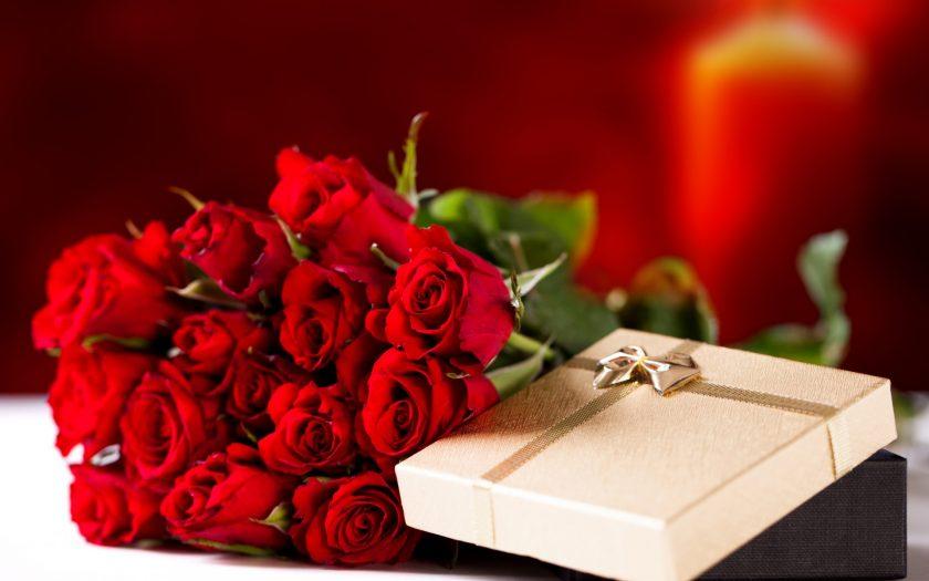 anh hoa valentine hoa hong tinh yeu