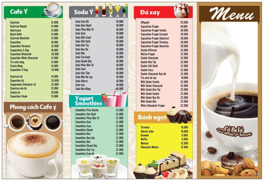 anh menu quan cafe