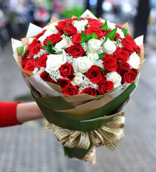 bo hoa tinh yeu ngay valentine