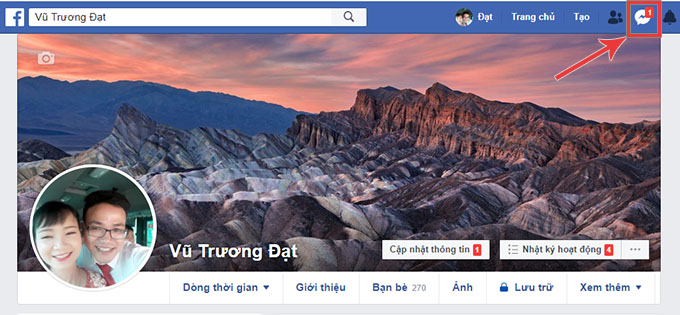 check inbox facebook
