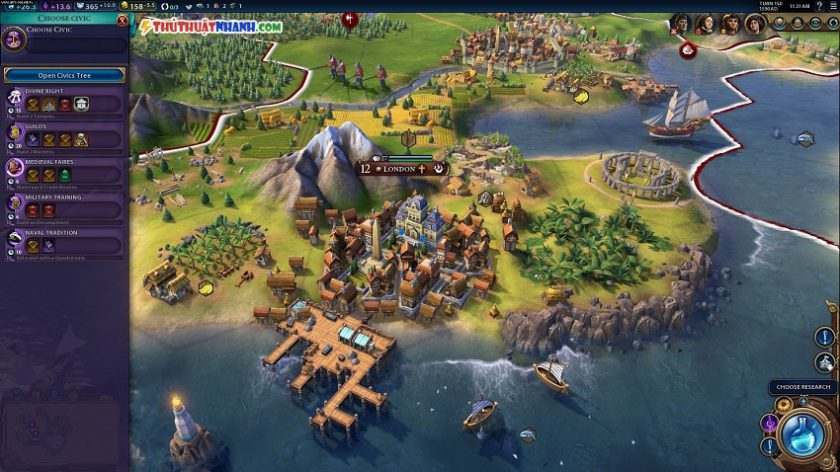 game chien thuat Civilization 6 viet hoa cho pc