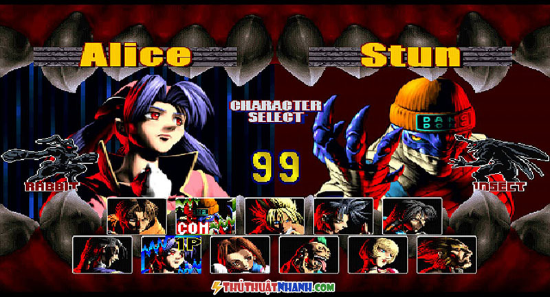 game dau truong thu bloody roar