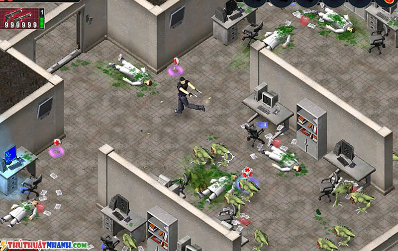 game offline nhe cho pc Ailen Shooter