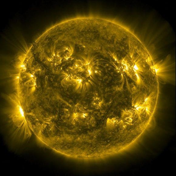 hình ảnh 3D bề mặt Mặt Trời