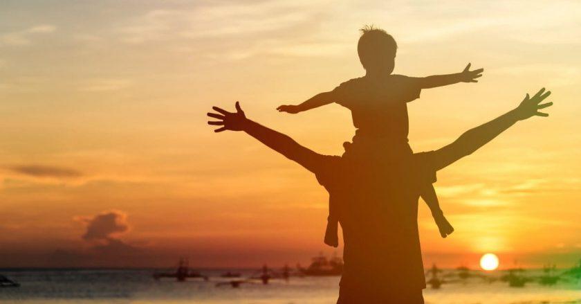 hinh anh dep va y nghia ve cha va con Hình ảnh về cha và con tình cảm xúc động nhất