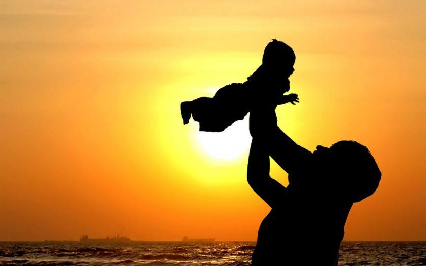 hinh anh dep ve cha va con Hình ảnh về cha và con tình cảm xúc động nhất