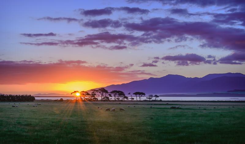 hình ảnh Mặt Trời mọc