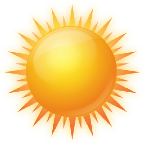 hình Mặt Trời 3D png