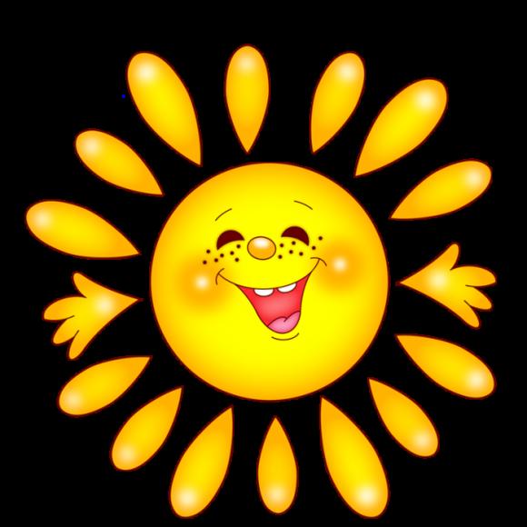 hình minh họa mặt trời vui vẻ png