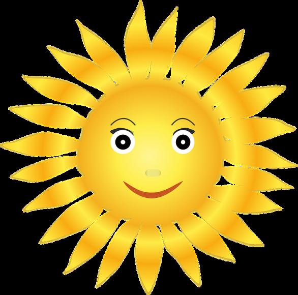 Hình vẽ ông Mặt Trời