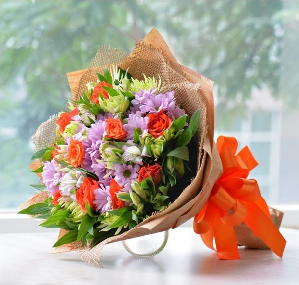 hoa sinh nhat tang ban be