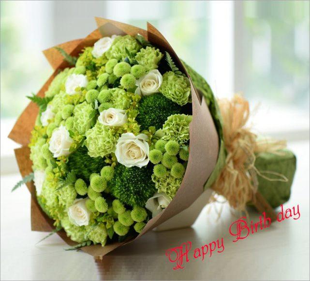 hoa sinh nhat tang con trai