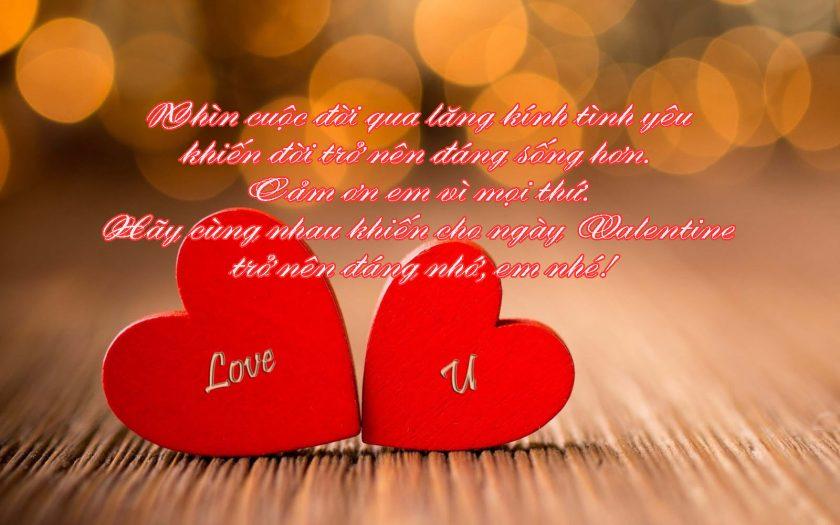 loi chuc valentine cho chong