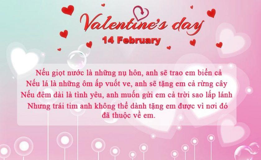 loi chuc valentine cho nguoi yeu