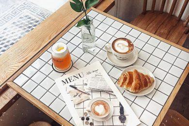 menu quan cafe dep tinh te