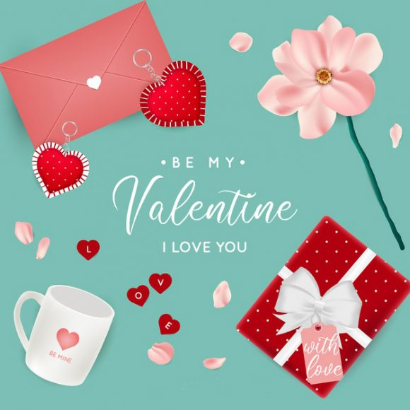 thiep valentine dep de thuong