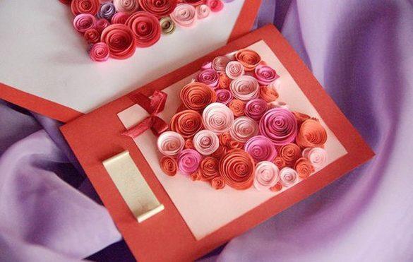 thiep valentine handmade dep lang man