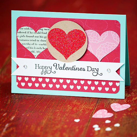 thiep valentine handmade dep