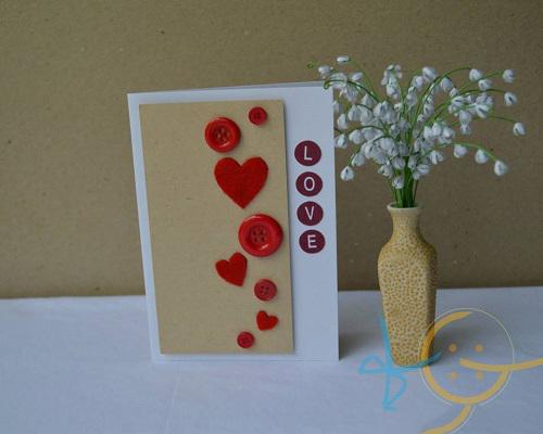 thiep valentine handmade lam bat tay gian di