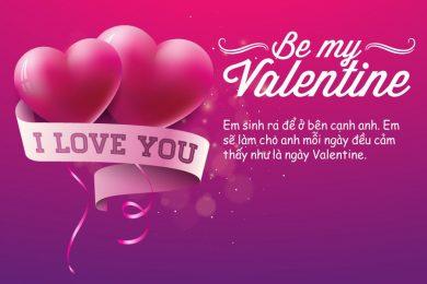 thiep valentine kem loi chuc tinh yeu y nghia ngot ngao