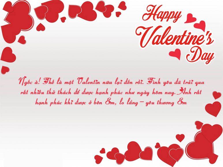 thiep valentine va loi chuc ngay le tinh nhan